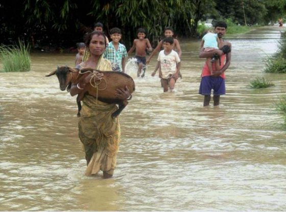 Flood in West Midnapore