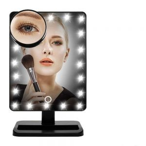Lighted Makeup Illuminated and Portable Vanity Mirror