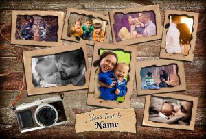 Personalized Printed Photo Poster